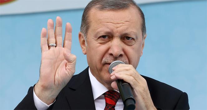 Erdoğan: ABDnin PYD, YPGye verdiği desteği kınıyorum