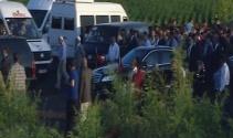 Erdoğan ve Yıldırım, 16 kişinin hayatını kaybettiği Tanışık köyünü ziyaret etti