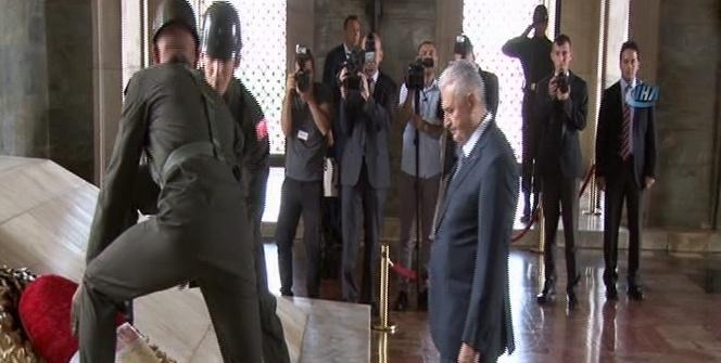 65. hükümet üyeleri Anıtkabir'i ziyaret etti