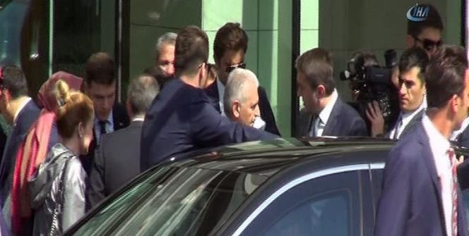 Başbakan olarak ilk kez İstanbul'da