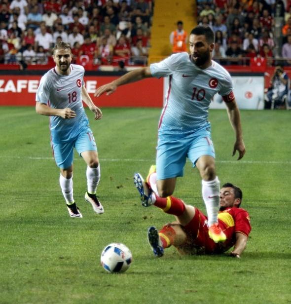Türkiye 1 Karadağ 0 (Maç özeti)
