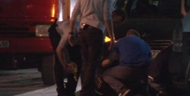 Şişli'de patlatılan şüpheli paket bir kadının bayılmasına neden oldu
