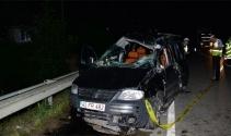 Kamyonet takla attı: 2 ölü, 3 yaralı