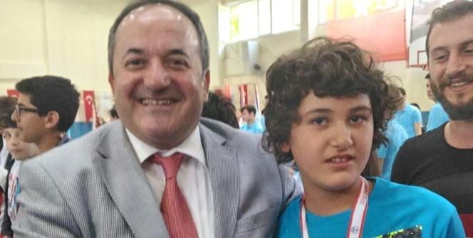 Kaşık tutmakta zorlanıyordu, Türkiye ikincisi oldu