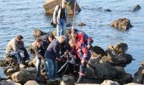 Kayıp annelerinin cesedini denizde buldular