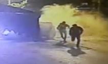 Plazma hırsızları güvenlik kamerasına yakalandı