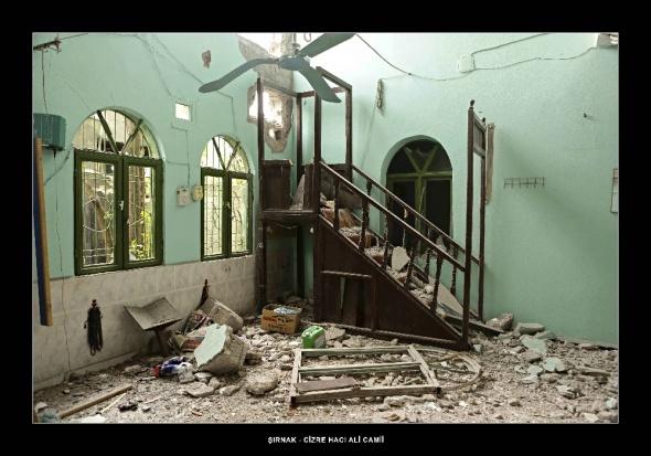 İşte teröristlerin tahrip ettiği camiler
