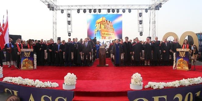 GAÜ 30. Dönem Mezuniyet Töreni gerçekleşti