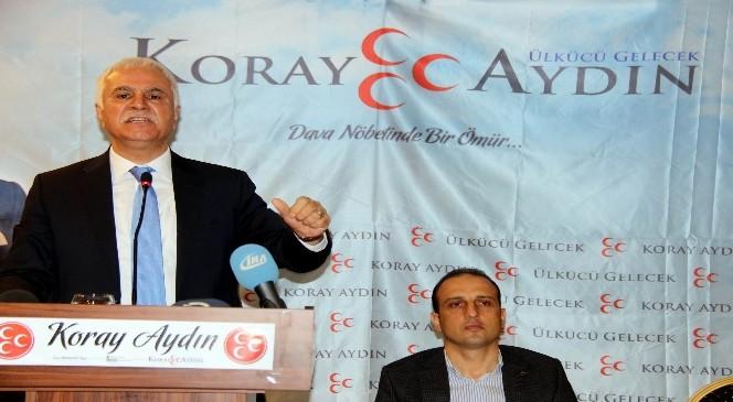 MHP Genel Başkan Adayı Koray Aydın: