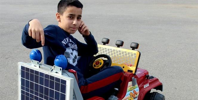 Güneş paneli ile akülü araçların şarj sorununa çözüm