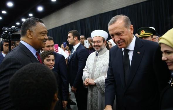 Muhammed Ali'ye veda: Cumhurbaşkanı Erdoğan da katıldı