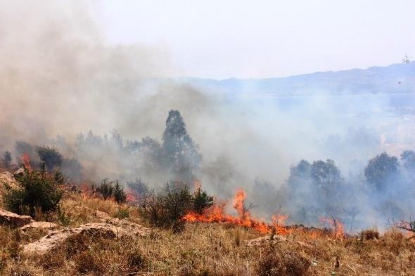 Turizm cenneti yanıyor