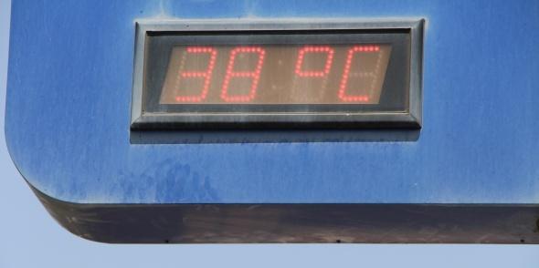 İstanbul'da termometreler 38 dereceyi gösterdi