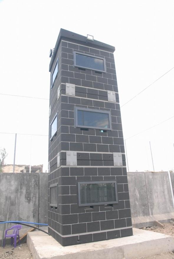 Diyarbakır'a 'Sur' görünümlü kalekollar inşa edildi