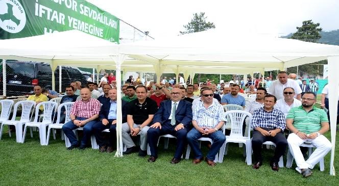Giresunspor'da Mustafa Temel Bozbağ Güven Tazeledi
