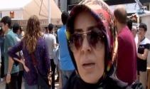 Patlamada ölenlerin yakınlarından, yabancı gazeteciye ders gibi cevap
