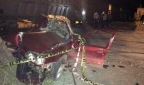 Hemzemin geçitte feci kaza: 2 ölü