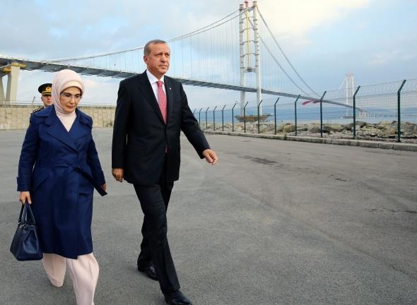Osmangazi Köprüsü açılışından muhteşem kareler