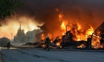 Tekstil fabrikasında korkunç yangın