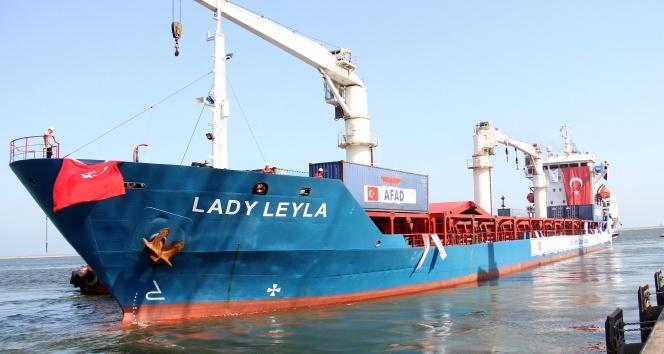 Türkiyeden Gazzeye yardım götüren gemi İsraile ulaştı