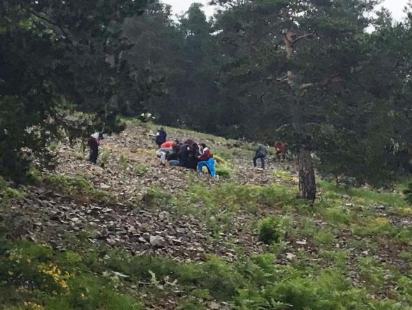 Giresun'da askeri helikopter düştü