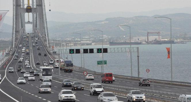 Osmangazi Köprüsünde ücretli geçişler başladı