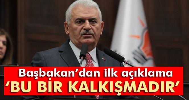 نخست وزیر ترکیه وقوع کودتا را تایید کرد