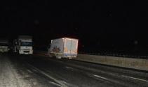 Teröristler, karakolun önüne bomba yüklü kamyonet bıraktı