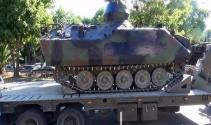 Emniyetteki son tank çekildi