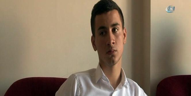 Cumhurbaşkanı Erdoğan'ın alnından öptüğü yaralı genç o gece yaşadıklarını anlattı