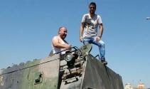 Beş dakikada tank kullanmayı öğrenen Rizeli o anları anlattı