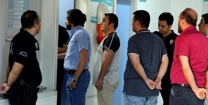 Kahramanmaraş'ta 80 polis gözaltına alındı