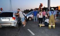 Balıkesir'de trafik kazası: 6 yaralı