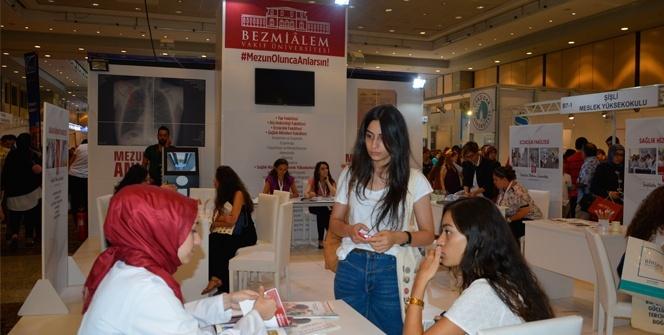 İstanbul Tercih Fuarı'nda Bezmiâlem'e, büyük ilgi