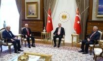 Cumhurbaşkanlığı Külliyesinde liderler zirvesi