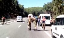 Erdoğana suikast timinde yer alan 3 kaçak sat komandosu yakalandı
