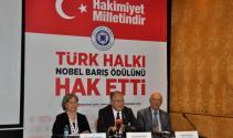 Türkler Nobel Barış Ödülüne aday