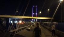 Şehitler Köprüsünde yaşananlara ilişkin yeni görüntüler