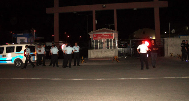 Mahkumlar nakil olmamak için cezevinde yangın çıkardı