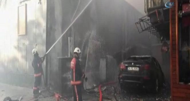 İstanbulda yangın