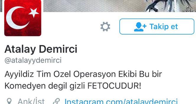 Atalay Demircinin Twitter hesabı hacklendi