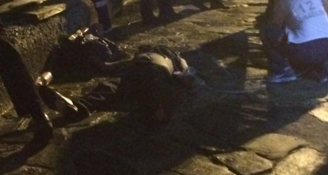 Deniz kenarında oturan adam denize düşerek boğuldu