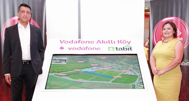 Vodafone, Tabit ortaklığıyla 'Akıllı Köy' kuruyor