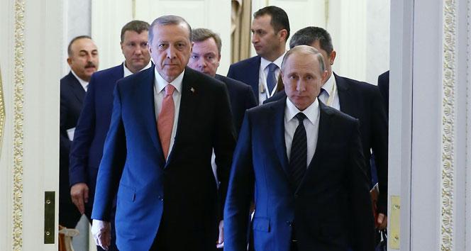 Erdoğan ve Putin mutabakata vardı