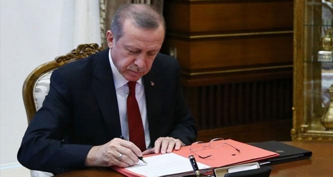 Cumhurbaşkanı Erdoğanın onayladığı 34 kanun, Resmi Gazetede yayımlandı