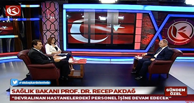 Bakan Akdağ: İşaretler Güleni iade edecekleri yönünde