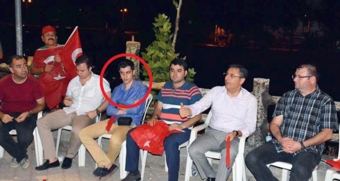 Demokrasi nöbetine katılan savcı gözaltına alındı