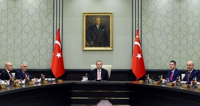 Erdoğan başkanlığında, saat 14.00te toplanacaklar
