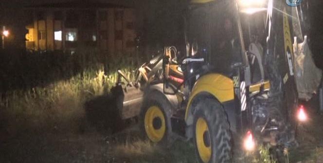 Sakarya'da şüpheli kazı mahalleliyi sokağa döktü