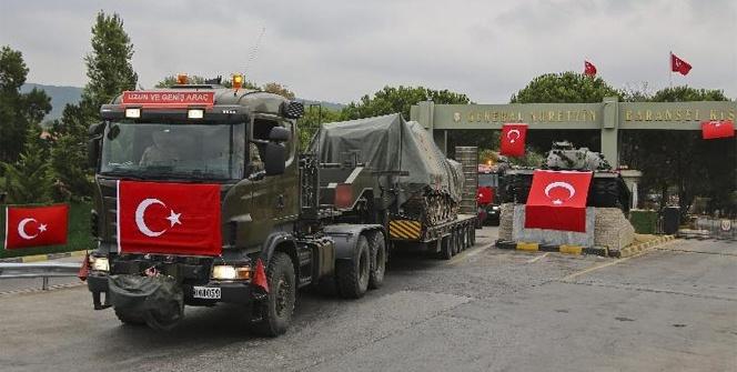 İstanbul'daki tanklar taşınmaya devam ediyor